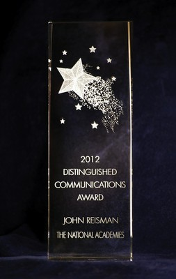 Distinguished Communications Award - 2012