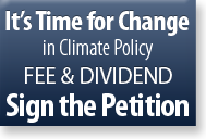 sign the climate lobby petition