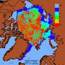 2007-08 Disappearance of old ice, 1981–2007