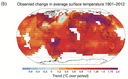 IPCC AR5 WGI Observed change in average surface temperature 1901-2012